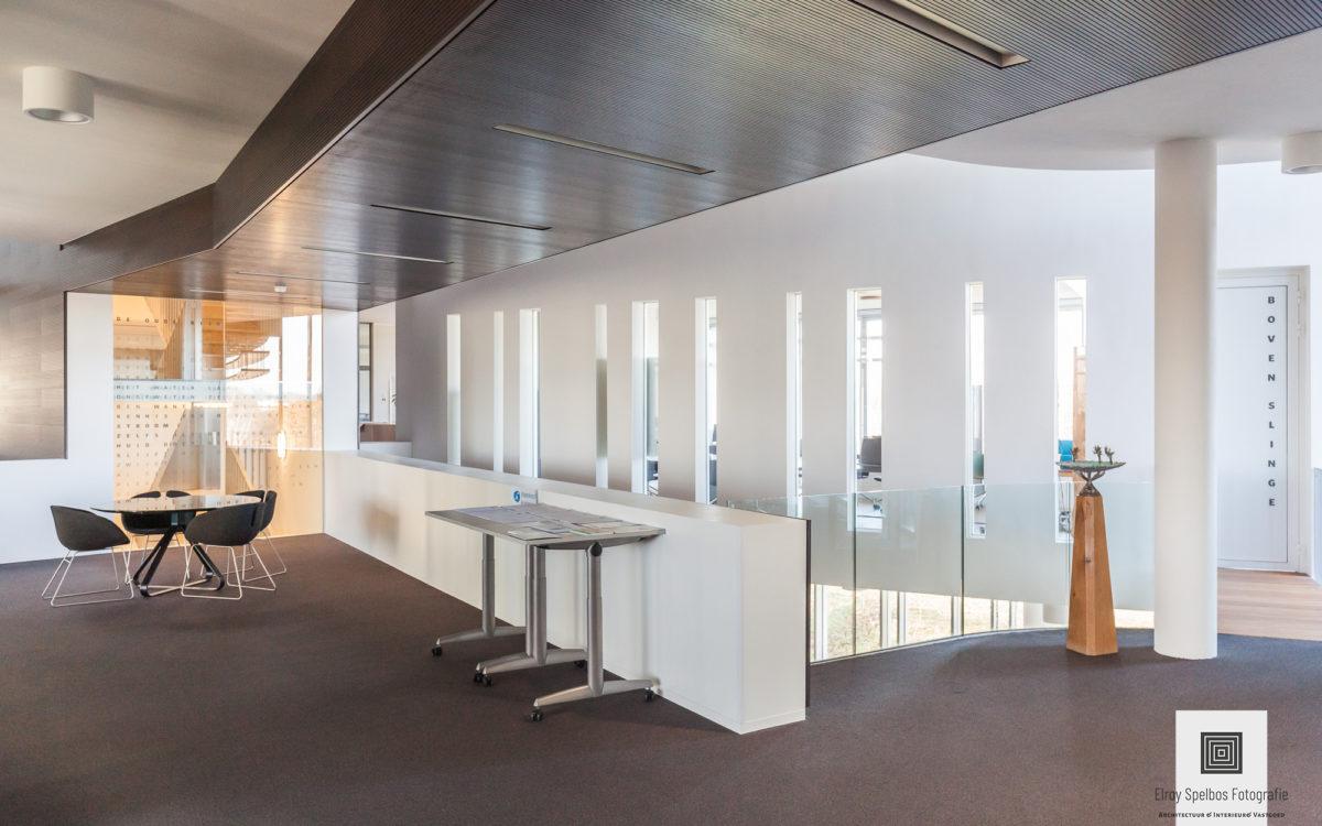Interieurfoto van een kantoor gemaakt door architectuurfotograaf Elroy Spelbos