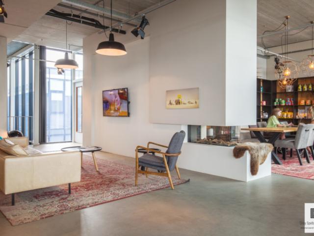 Relax gedeelte modern kantoor