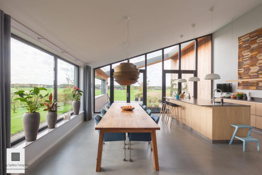 Moderne villa in opdracht