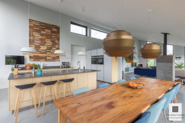 Moderne keuken gefotografeerd door architectuurfotograaf Elroy Spelbos