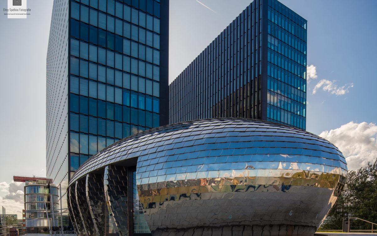Hyatt hotel in Düsseldorf, gemaakt door architectuurfotograaf Elroy Spelbos