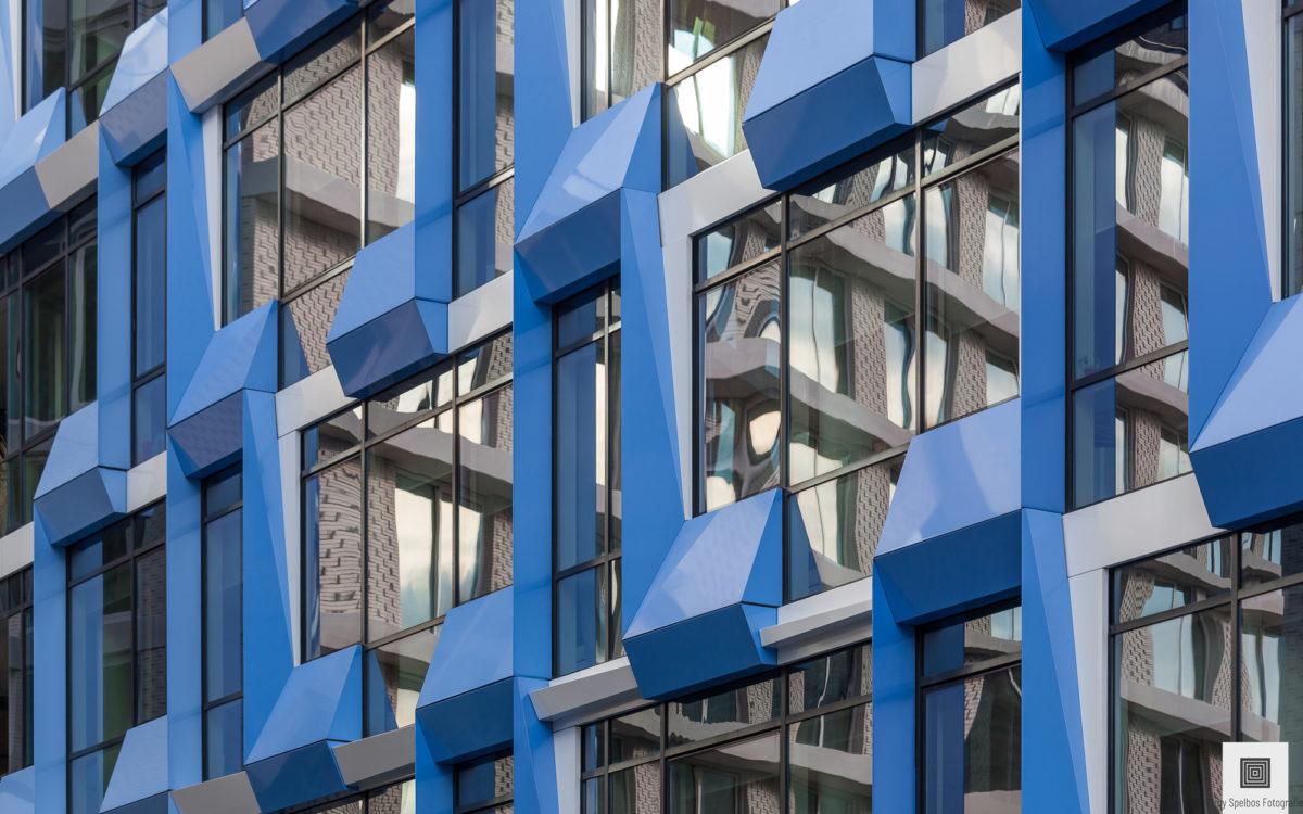 Abstracte foto van architectuurfotograaf Elroy Spelbos