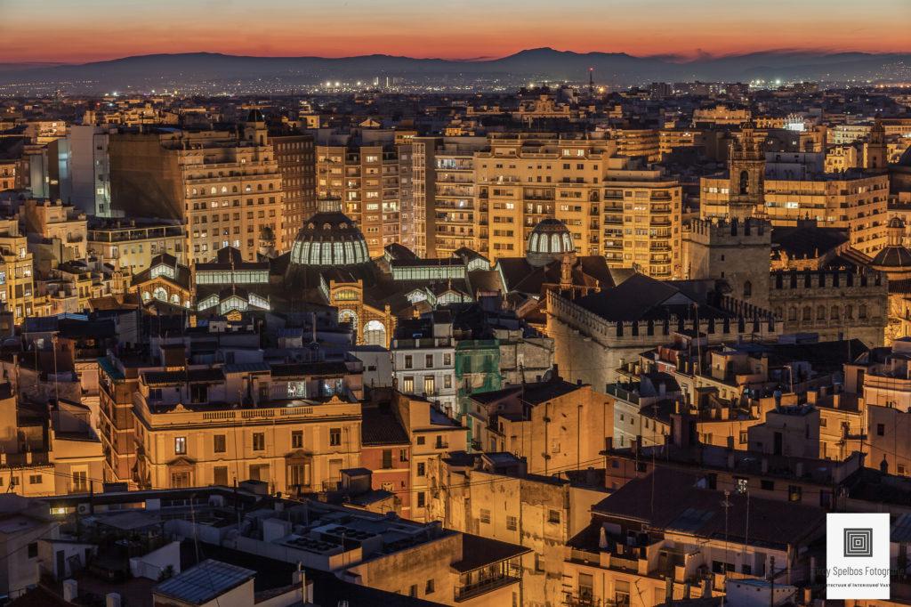 Stadsbeeld van Valencia