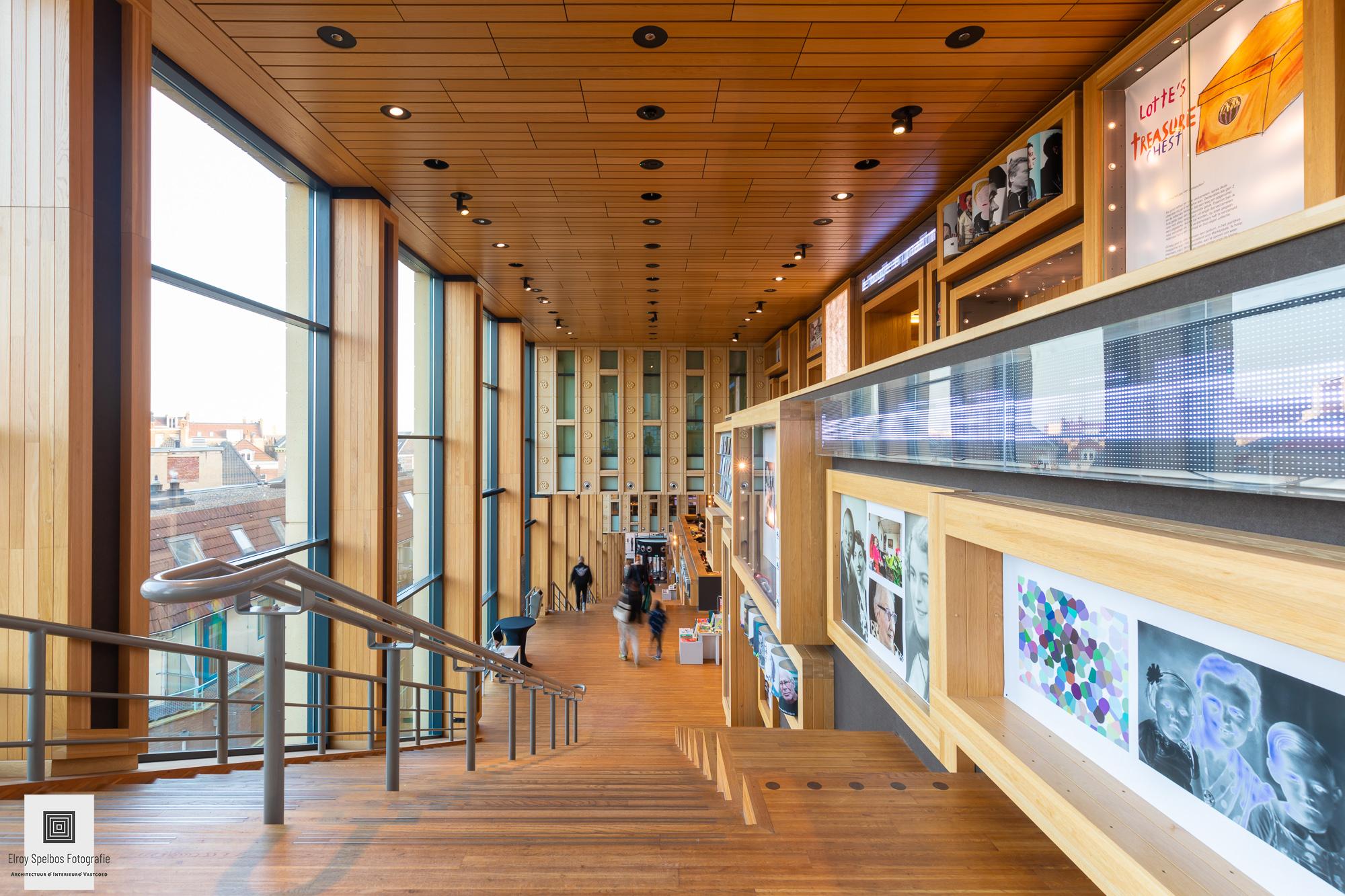 Rozet bibliotheek Arnhem